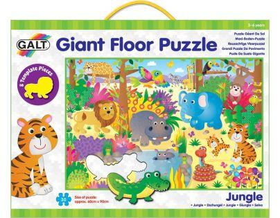 Galt Velké podlahové puzzle – zvířátka v džungli