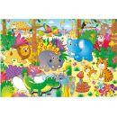 Galt Velké podlahové puzzle – zvířátka v džungli 2