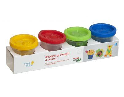 Genio Kids Kelímky s modelínou 4 barvičky