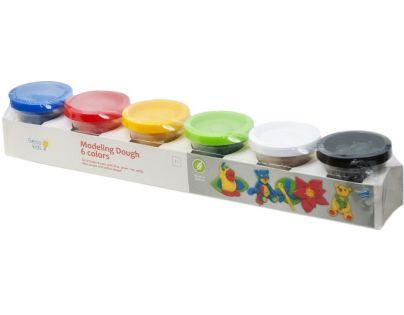 Genio Kids Kelímky s modelínou 6 barev