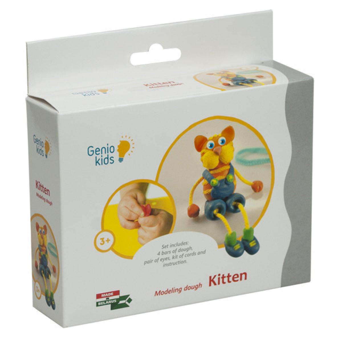 Genio Kids - Modelína - kreativní sada Koťátko