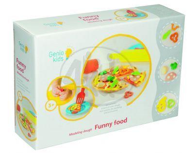 Genio Kids Modelína Kreativní sada Veselé jídlo