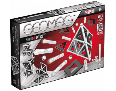 Geomag Black and White 68 dílků
