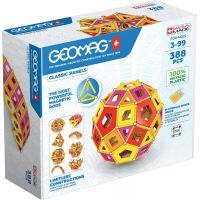 Geomag Classic Panels Masterbox Warm 388 dílků