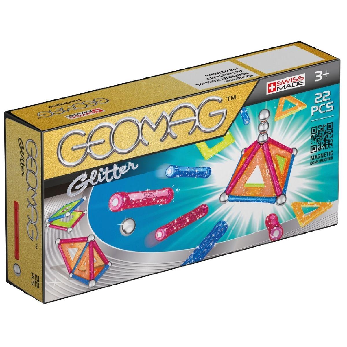 Geomag Glitter 22 dílů