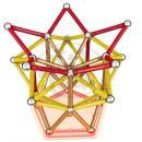 GEOMAG KIDS Color 120 pcs - dlouhé tyčky - Poškozený obal 5