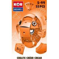 Geomag Kor Egg Orange 55 dílů