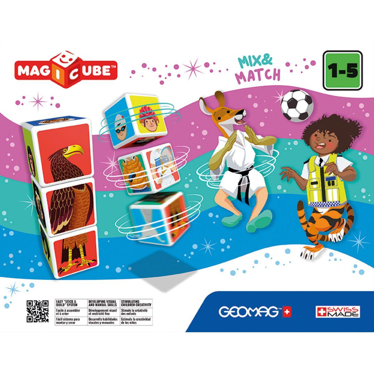 Geomag Magicube Mix & Match 6 kostek