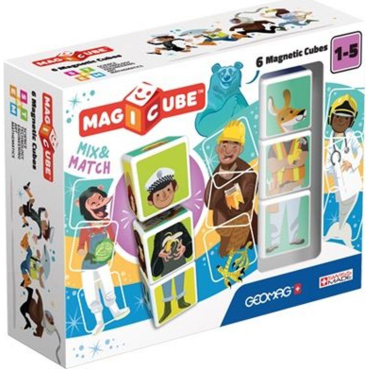 Geomag Magicube Mix & Match 6 kociek
