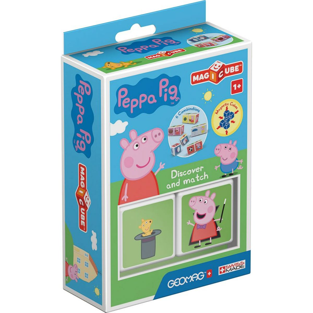 Geomag Magicube Peppa Pig Discover  Match