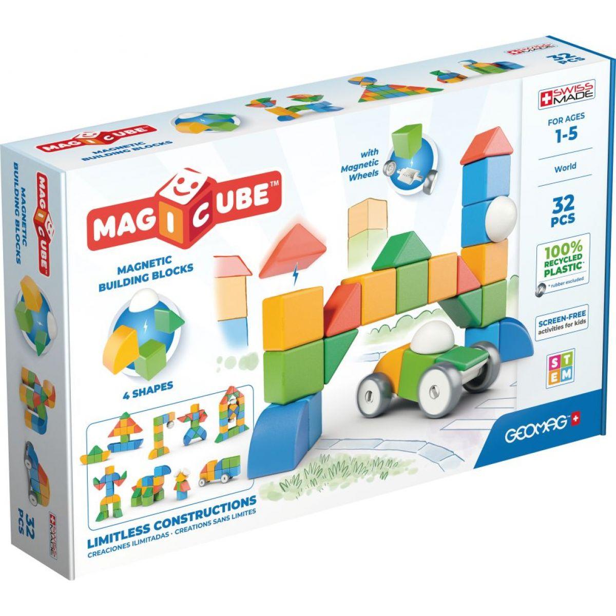 Geomag Magicube Shapes 32 dielikov