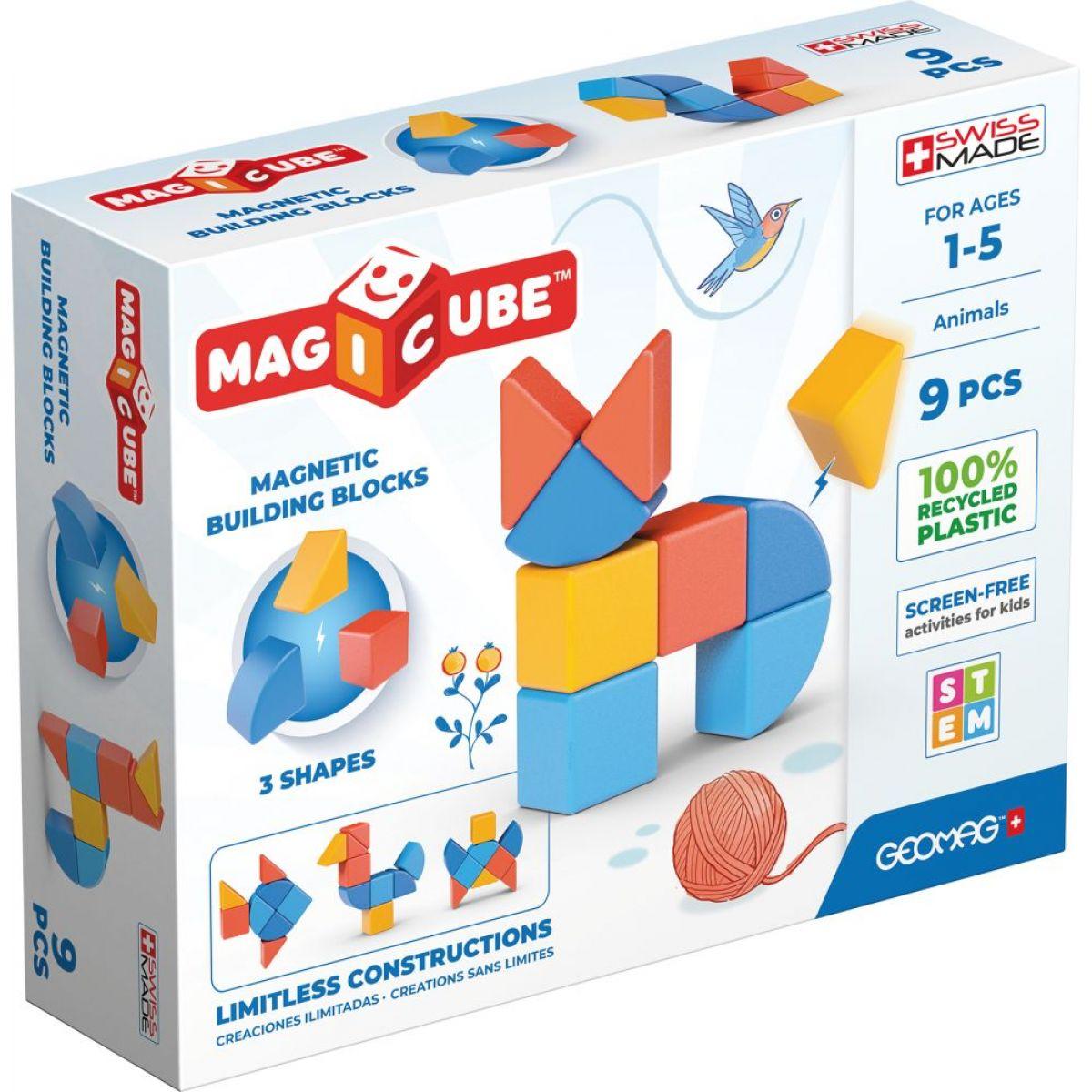 Geomag Magicube Shapes 9 dielikov