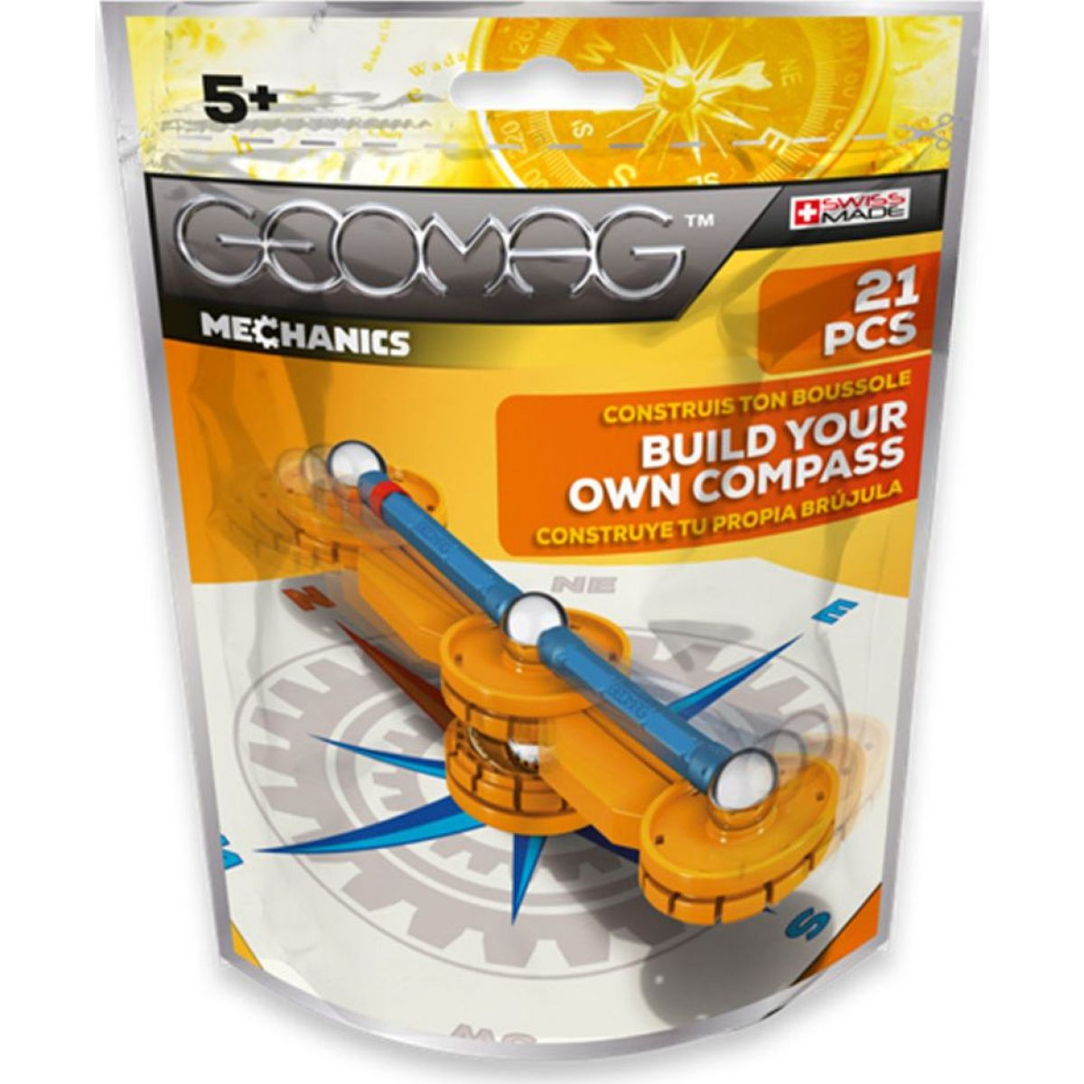 Geomag Mechanics 21pcs