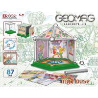 Geomag Mini house 87 dílů 2