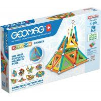 Geomag Supercolor recycled 78 dílků