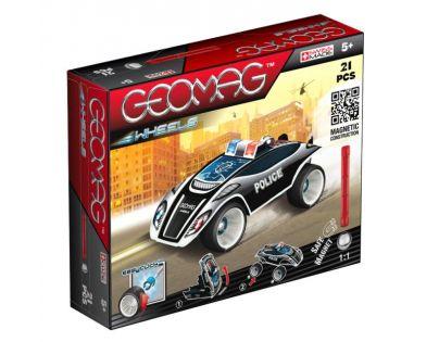 Geomag Wheels Fastcar 21 dílů