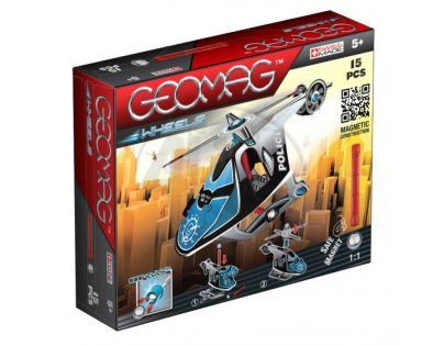 Geomag Wheels Helicopter 15 dílů