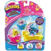Ep Line Glitters třpytivá sněžítka 3-pack - Fantazy sněžítka