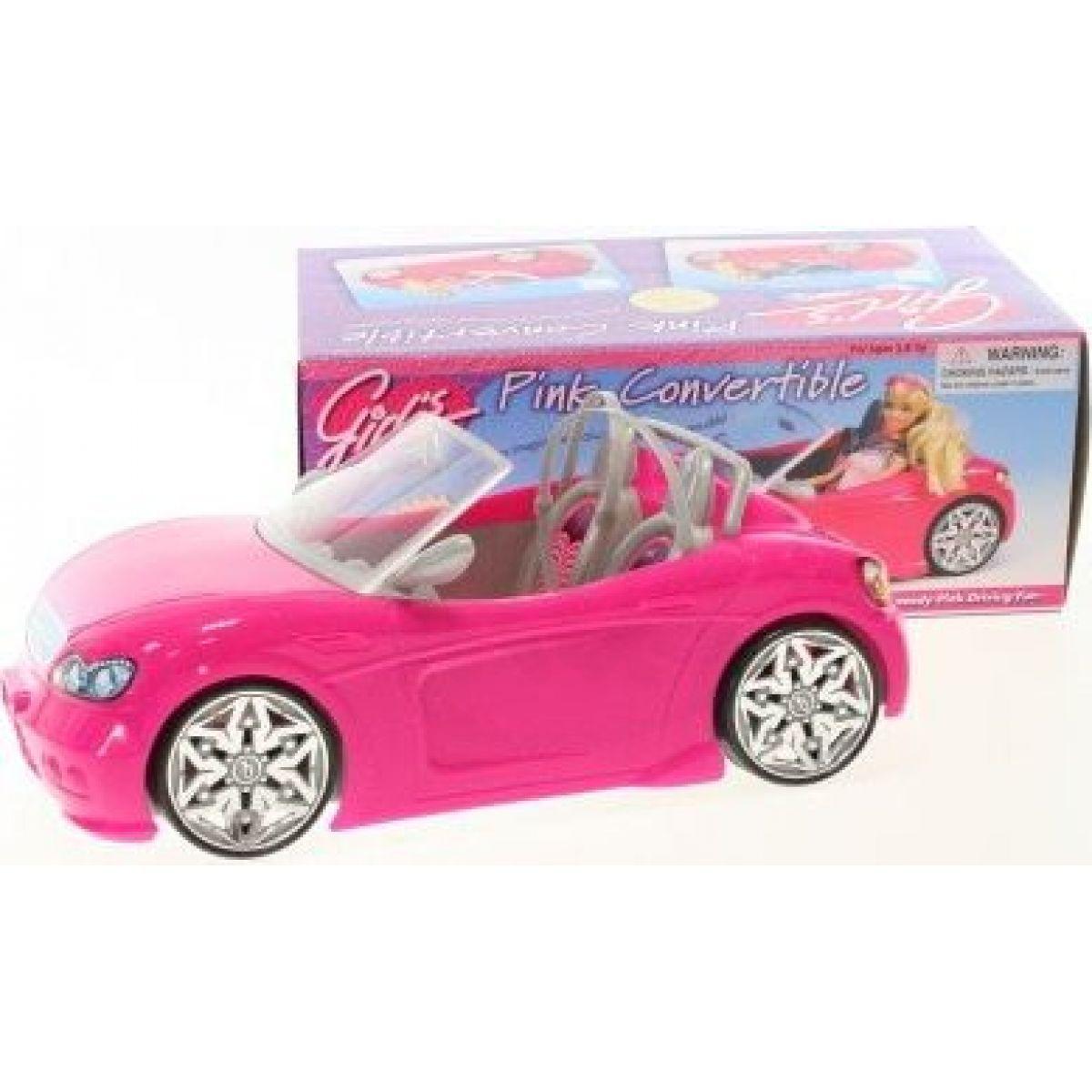 Glorie Auto růžové - růžový interiér