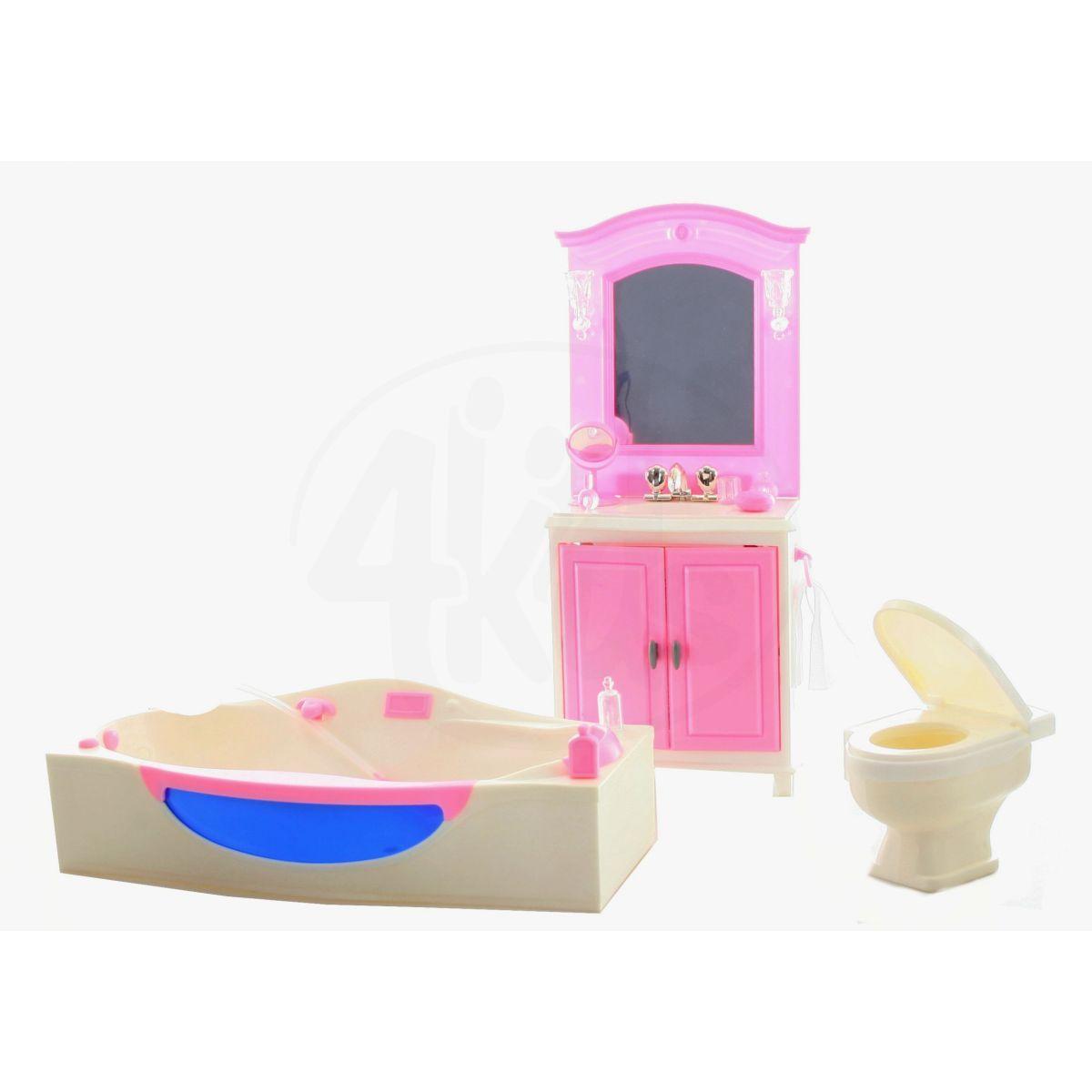 Glorie Koupelna pro panenky s doplňky