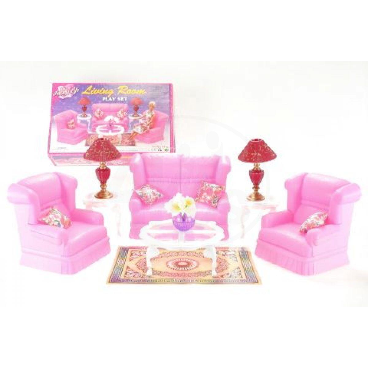 Glorie obývací sada pro panenky typu Barbie