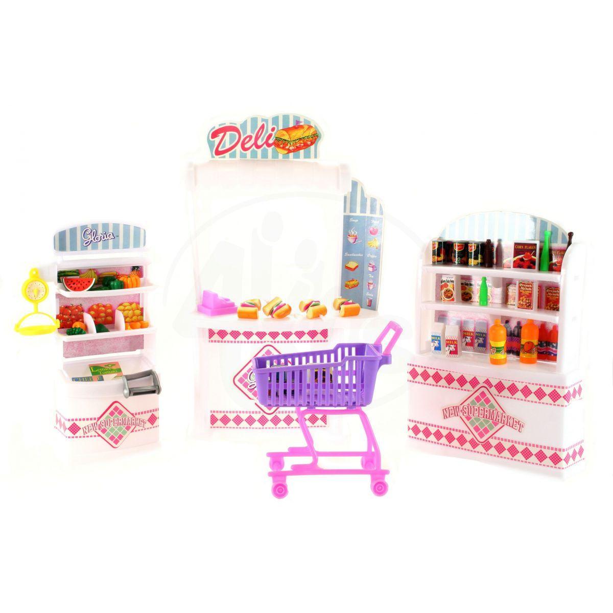 Glorie supermarket pro panenky typu Barbie