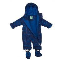 Gmini Kombinéza zimní kojenecká Bilblo chlapec modrá 68 2
