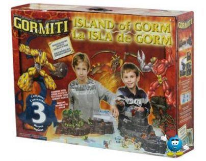 Gormiti - Velký hrací set Ostrov 3 figurky