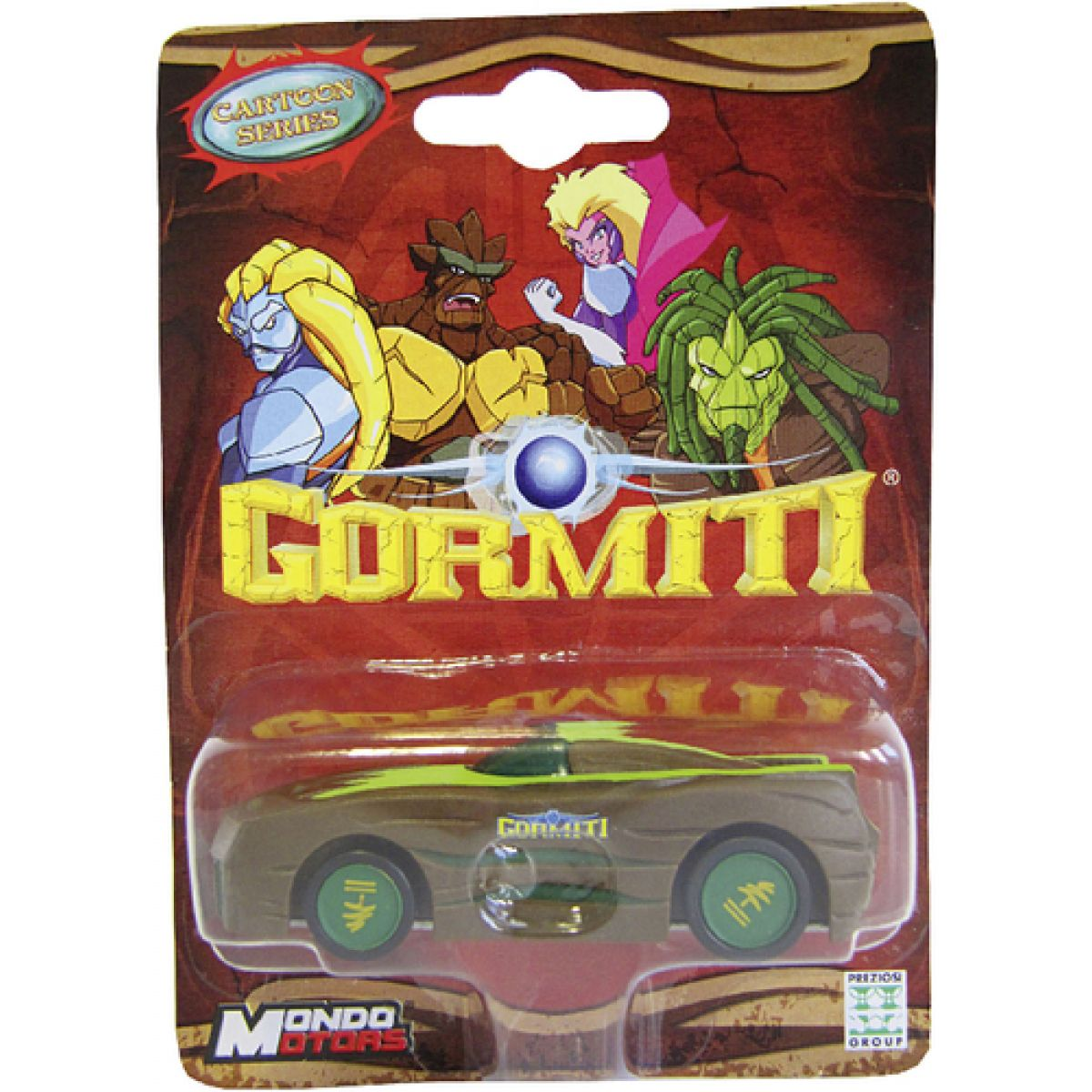 Gormiti Cartoon Auto 1:64 1 pack