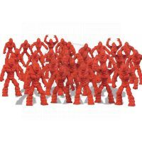 Ep Line Gormiti Cartoon Neorganic 4 cm mini bojovníci - Červená