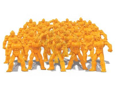 Ep Line Gormiti Cartoon Neorganic 4 cm mini bojovníci - Žlutá