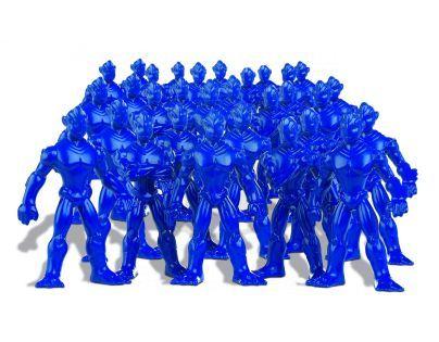 Ep Line Gormiti Cartoon Neorganic 4 cm mini bojovníci - Modrá tmavá