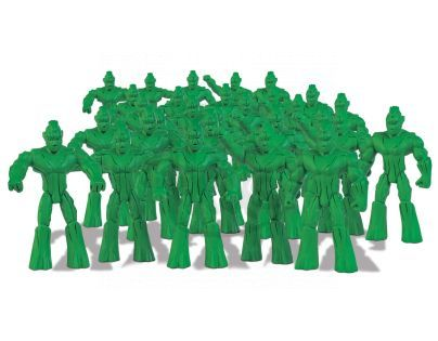 Ep Line Gormiti Cartoon Neorganic 4 cm mini bojovníci - Zelená