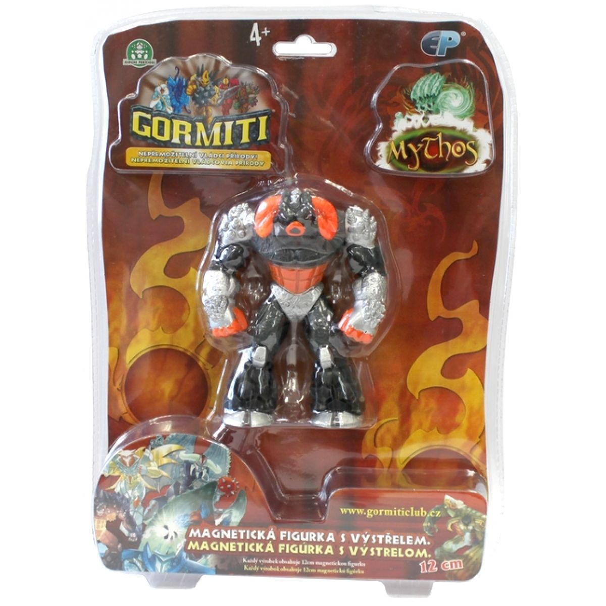 Gormiti Mythos 12cm magnetická figurka - Pán Země
