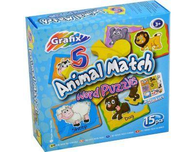 Grafix Poznávání zvířátek puzzle