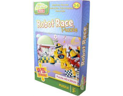 Grafix Puzzle 45 dílků - Robot