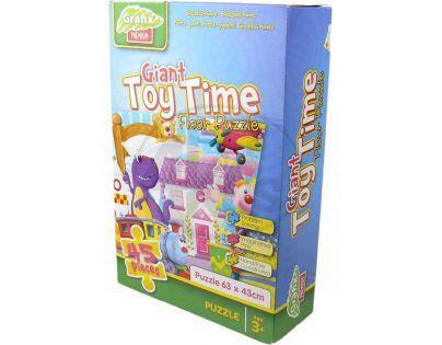 Grafix Puzzle 45d - Čas hraček