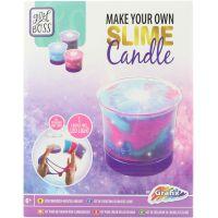 Grafix Výroba sviečky zo slizu