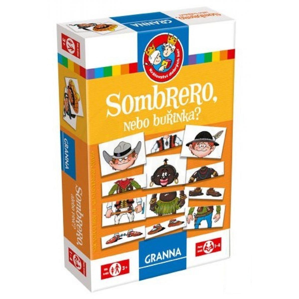 906f26f7463 Granna Sombrero nebo buřinka