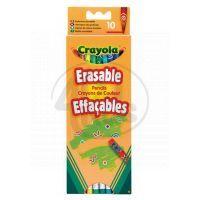 Crayola Pastelky gumovatelné 10ks