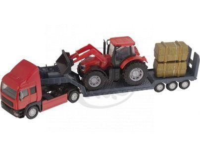 Halsall Přeprava traktorů - Tahač červený