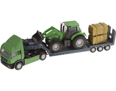 Halsall Přeprava traktorů - Tahač zelený