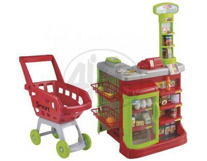 Halsall Smart Supermarket s vozíkem