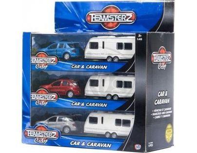 Halsall Teamsterz auto s karavanem