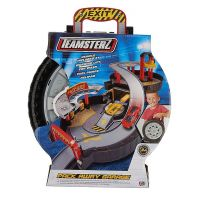 Halsall Teamsterz garáž v pneumatice s autíčkem 5