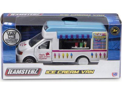 Halsall Teamsterz Zmrzlinové auto hrací - Modrá