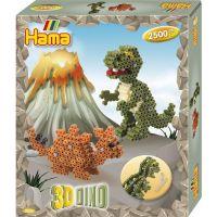 Hama Midi korálky 3D Dino