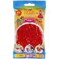Hama H207-05 - Zažehlovací korálky MIDI červené 1.000 ks
