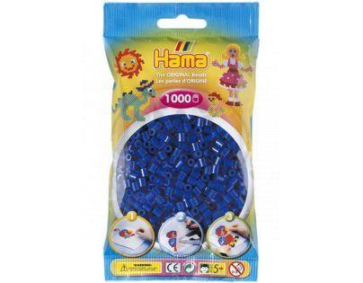 Hama H207-08 - Zažehlovací korálky MIDI modré 1.000 ks