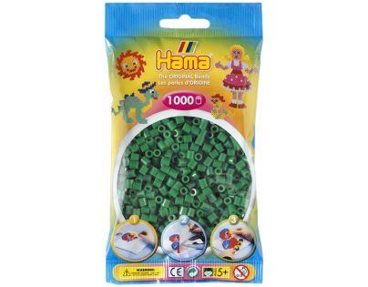 Hama H207-10 Zažehlovací korálky Midi zelené 1000 ks
